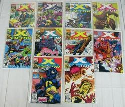 X-Factor #73-82 Lot of 10 comics 1991 Marvel Comics - C5052 - £15.26 GBP