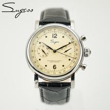 Sugess Seagull Movement Chronograph ST1901 Pilot Mens Watches 1963 Chronograph 4 - $320.98