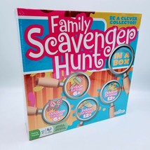 Family Scavenger Hunt Board Game In A Box Indoor Outdoor Kids Adults OUT... - $19.75