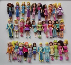 Polly Pocket Dressed Doll with Outfit and Shoes 1-33 You Pick - $3.99+