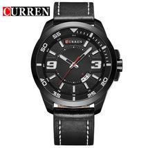 2017 CURREN Quartz Watch Men Watches Top Brand Luxury Famous Wristwatches Male C - $33.38