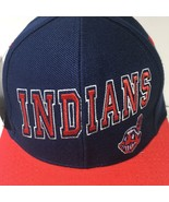 Vintage MLB Cleveland Indians Twins Snapback Cap Hat OSFA NWT - $49.50