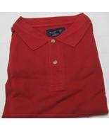 Men's Golf Shirt Harbor Bay Brand 4XL Big Red Color 100 % Cotton Side Vent - $8.54