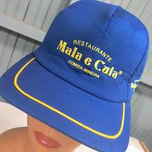 VTG Mala e Cuia Brazil Restaurant Comida Mineira Snapback Baseball Cap Hat  - $22.95
