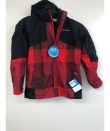 Columbia Youth XL Coat , Red/Black - $25.15
