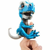 WowWee Untamed T-Rex by Fingerlings Ironjaw (Blue) -Interactive Collecti... - $29.95