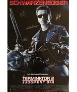TERMINATOR 2  SIGNED MOVIE POSTER - $210.00