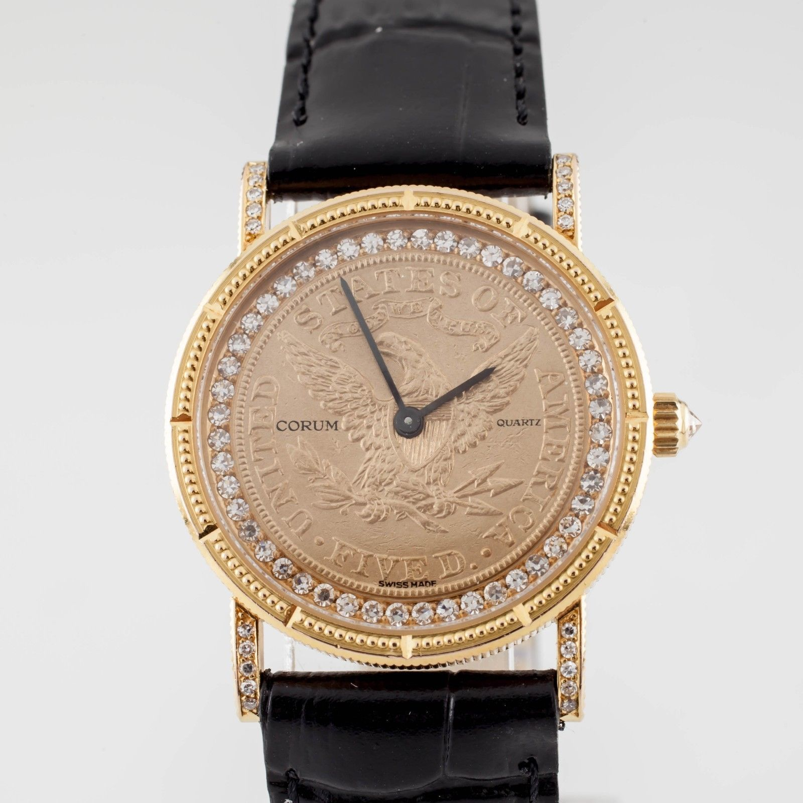 944b3fe981c8a Corum 18k Yellow Gold Eagle Quartz Watch w  and 42 similar items