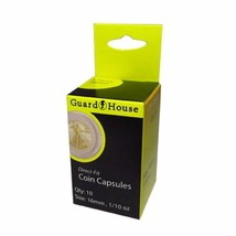 Direct Fit Air Tight Coin Capsules, 1/10oz Gold Eagle by Guardhouse 16mm... - $6.35
