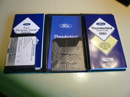 1991 Ford Thunderbird Owner Guide & Warranty In... - $12.59