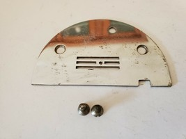 Vintage Domestic Rotary 153 Sewing Machine Bobbin Cover & Mounting Screws - $15.76