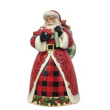 """Jim Shore Santa Holding Red Truck 9"""" High Christmas Collectible Country Living image 1"""
