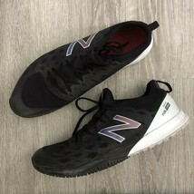 New Balance Fuel Core Quick Size 15 D Black & White Gym Running Sneakers - $39.98