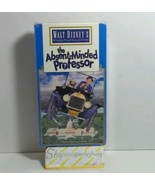 VINTAGE CLASSIC THE ABSENT-MINDED PROFESSOR WALT DISNEY VHS MOVIE BLACK ... - $2.93
