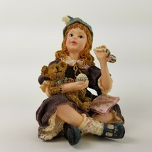 Boyds Bears Yesterdays Child Dollstone Felicity with Bennington Figurine... - $18.69