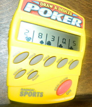 Radica Sports Draw & Deuces  Electronic Game - $15.00