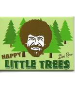 Bob Ross Joy of Painting Happy Little Trees Art Refrigerator Magnet NEW ... - $3.99