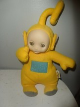 Teletubbies Yellow Lala Talking Plush Doll Toy Playskool  - $9.85