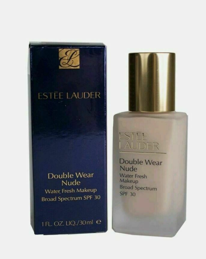 Primary image for Estee Lauder Double Wear Nude Water Fresh Foundation Makeup SPF30 1C1 Cool Bone
