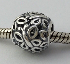 Authentic Pandora Butterfly Garden Sterling Silver Bead Charm 790895, New - $24.69