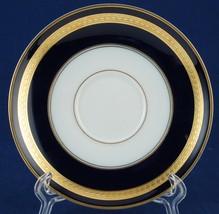 """Rosenthal Continental Eminence 6"""" Saucer Cobalt Gold Laurel Bands 5107 5... - $8.50"""