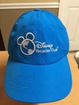 Disney Vacation Club Member Baseball Cap Hat New  Turquoise Blue - $8.59