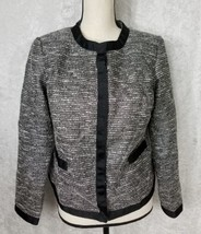 Sag Harbor Lined Casual Career Jacket Blazer Suit Coat Petite Sz 10P    ... - $21.49
