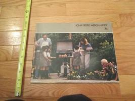 John Deere Merchandise Vintage Dealer sales brochure 8 - $15.99