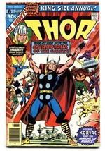 THOR ANNUAL #6-comic book GOTG!-MARVEL-High Grade VF - $63.05