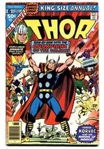 Thor Annual #6-comic Book GOTG!-MARVEL-High Grade Vf - $63.05