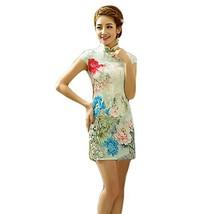 Fashion Chinese Style Cheongsam Elegant Retro Cheongsam B (Large) image 2