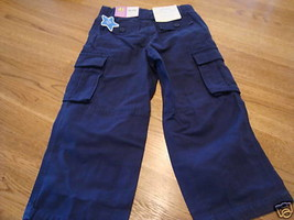 Carter's 4 kids pants NEW NWT 29.00 adjustable waist navy blue - $7.55