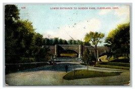 Cleveland, OH Ohio Gordon Park Lower Entrance Postcard Posted 1910 - $7.56