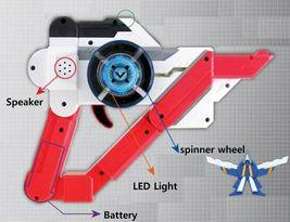 Tobot Galaxy Weapon Gun Sound Toy Gun image 6