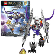 NEW 2015 LEGO Bionicle Series 8 Inch Tall Figure Set #70793 SKULL BASHER... - $49.99