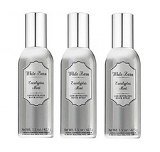 Lot of 3 White Barn Eucalyptus Mint Concentrated Room Spray 1.5 Oz  - $27.50
