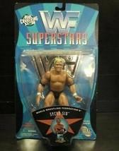 WWF Sycho Sid Superstars Wrestling action figure NIB Jakks Pacific WWE NIP - $18.55