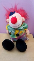 "Chappy the Clown Plush Heritage Collection by Ganzbros 17"" 1989 Vintage - $15.56"