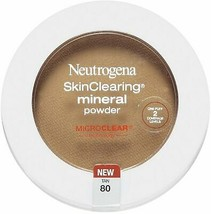 Neutrogena Skin Clearing Mineral Powder, Tan 80 - $6.92