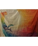Ambesonne Apartment Decor Tapestry, Basketball Player Sports Rainbow Col... - $32.66