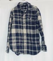 Gap Kids Boys Flannel Button Front Shirt Medium 8 - $5.94
