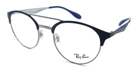Ray-Ban Rx Eyeglasses Frames RB 3545V 3006 49-20-140 Gunmetal / Matte Blue - $91.92