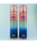 2-Pack Bath & Body Works Bali Black Coconut Sands Fine Fragrance Mist 8 ... - $24.70