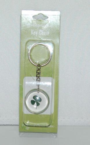 Angel Star 11181 Green Four Leaf Clover Clear Acrylic Key Chain