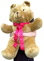 American Made Giant Teddy Bear Brown Soft 36 Inches Made in USA America - $87.11