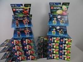 Lego Dimensions Lot of 20 New Fun Packs (10) Simpsons Krusty 71227 & (10... - $55.00