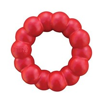 KONG - Ring - Durable Rubber Dog Chew Toy - For Medium/Large Dogs - £16.41 GBP