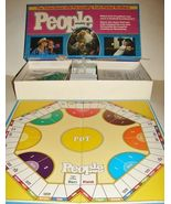 1984 PEOPLE MAGAZINE WEEKLY TRIVIA GAME Boardgame CMPLT - $29.99