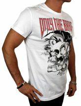 NEW DIESEL INDUSTRY LOGO MEN'S DESIGNER PREMIUM COTTON T-SHIRT TEE WHITE SIZE S image 3