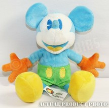 "Disney Parks 10"" Blue Yellow Mickey Mouse Stuffed Plush Toy With Origina... - $4.94"